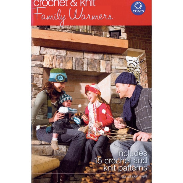 Coats & Clark Books-Family Warmers