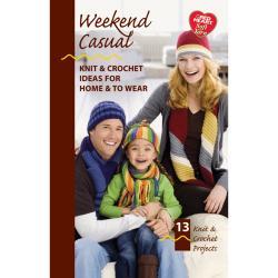 Coats & Clark Books-Weekend Casual -Soft Yarn