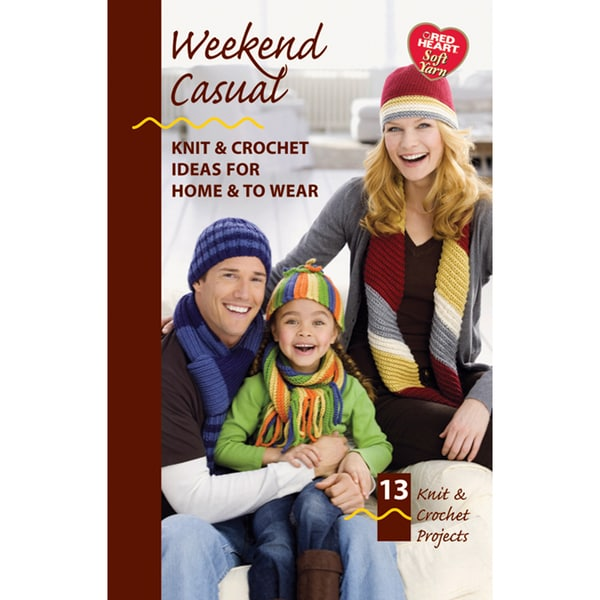 Coats & Clark Books-Weekend Casual -Soft Yarn