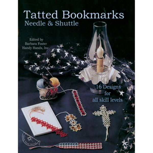 Handy Hands-Tatted Bookmarks-Needle & Shuttle