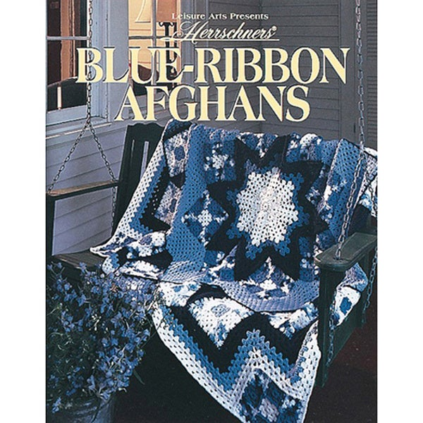 Leisure Arts-Blue-Ribbon Afghans