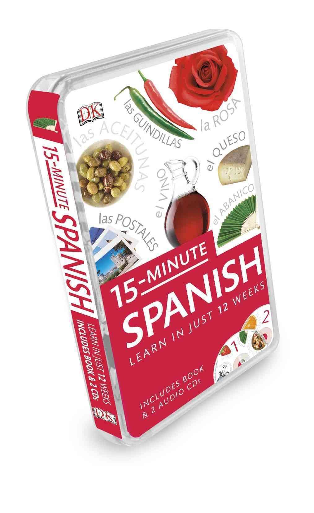 15-Minute Spanish: Learn in Just 12 Weeks