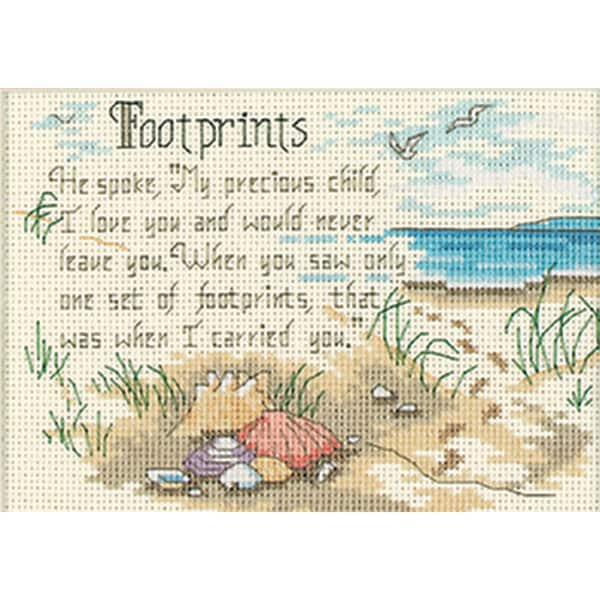 "Jiffy He Spoke Mini Counted Cross Stitch Kit-7""X5"""
