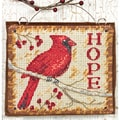 Hope Ornament Counted Cross Stitch Kit-4-1/4