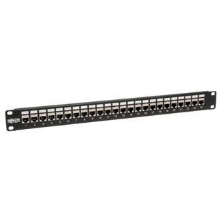 Tripp Lite 24-Port 1U Rackmount STP Shielded