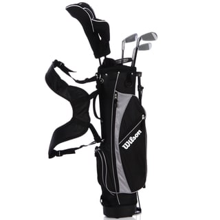 Wilson Jr Profile Black 6-piece Golf Set