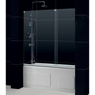DreamLine Mirage 56-60x58-inch Frameless Sliding Tub Door