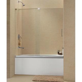 DreamLine Mirage 56-60x58-inch Frameless Sliding Tub Door