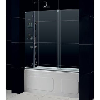 DreamLine Mirage Frameless 56-60 x 58-inch Sliding Tub Door
