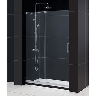 DreamLine Mirage Frameless 44-48 x 72-inch Clear Sliding Shower Door