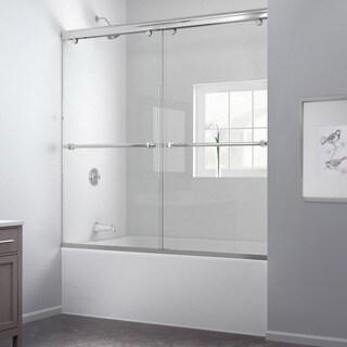 DreamLine Charisma 56-60x58-inch Frameless Bypass Sliding Tub Door