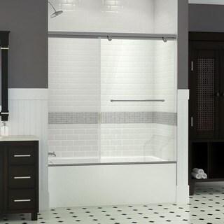 DreamLine Torero 35 x 58 Frameless Sliding Tub Door