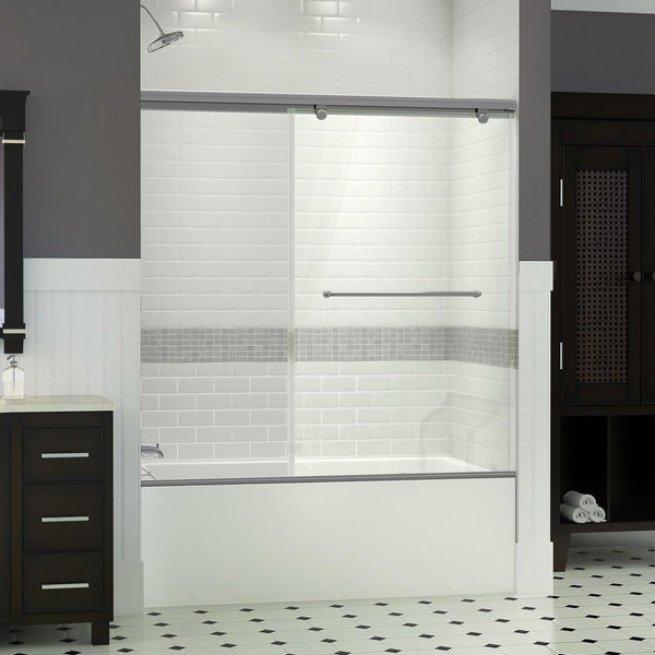 DreamLine Torero 35 x 58 Frameless Sliding Tub Door