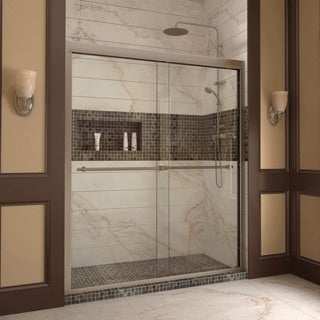 DreamLine Duet 56-60x72-inch Frameless Bypass Sliding Shower Door