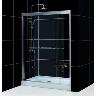 DreamLine Duet 56-60x72-inch Frameless Bypass Sliding Shower Door