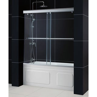 DreamLine Charisma 56-60x58-inch Frameless Bypass Sliding Tub Door