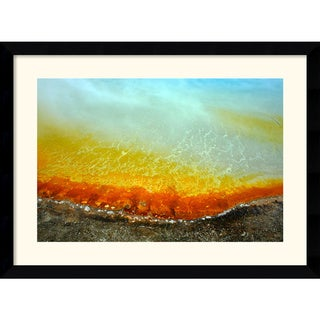 Andy Magee 'Mineral Spring' Framed Photography Art Print