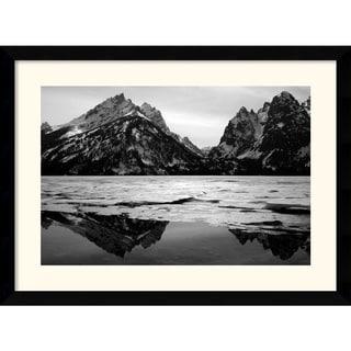 Medium Andy Magee 'Teton Winter' Framed Art Print