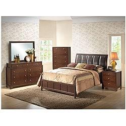 Butler 5-piece Queen-size Brown Modern Bedroom Set