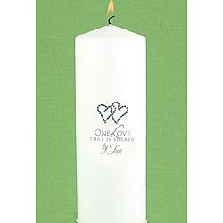 Hortense B. Hewitt White Unity Candle