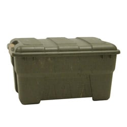Richell 38-quart Camo Green Outdoor Storage Box