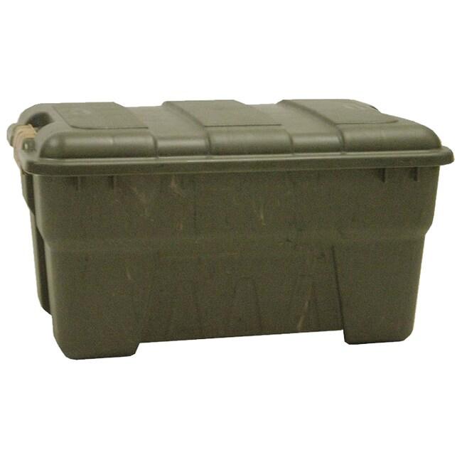 Richell 56-quart Camo Green Outdoor Storage Box