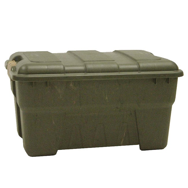 Richell 66-quart Camo Green Outdoor Storage Box