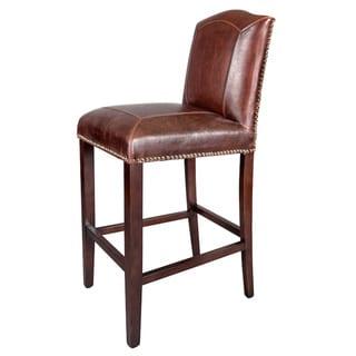 Monroe Leather Bar Stool