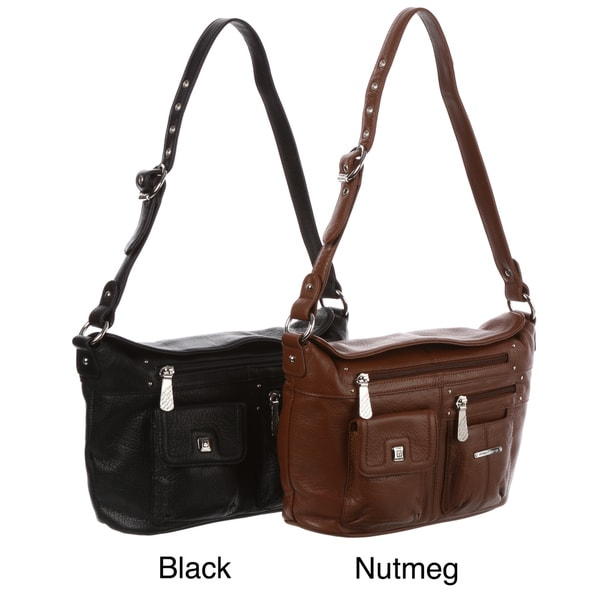Stone Mountain Frisco Leather Crossbody Bag
