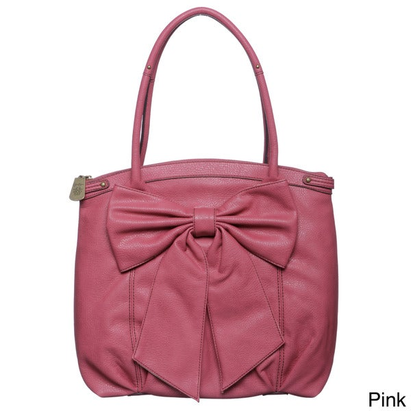 Jessica Simpson Bow Chic Tote with Oversized Bow