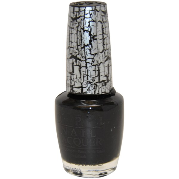 OPI Black Shatter Nail Lacquer