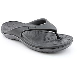 Crocs Men's Duet Athens Black Sandals