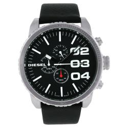 Diesel Men's Stainless Steel/ Leather XXL Watch