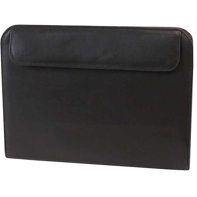 Soft Touch Leather Look Tablet Case with Writing Organizer