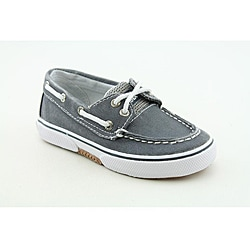 Sperry Top Sider Boys Halyard Medium-Width Blue/ Navy Blue Casual Shoes