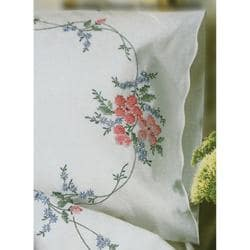 Stamped Pillowcase Pair 20