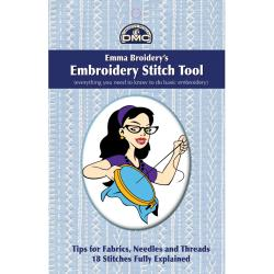 DMC Books-Emma Broidery's Embroidery Stitch Tool