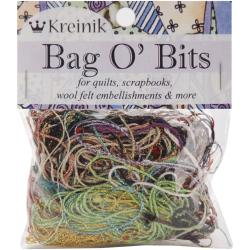 Bag O' Bits Metallic Thread-11 Grams