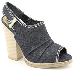 Calvin Klein Jeans Women's Nianda Blue Sandals