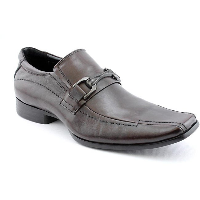 Kenneth Cole Reaction Men's Note Pad Brown Dress Shoes