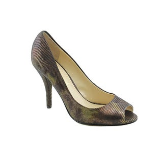 Enzo Angiolini Women's Mauldin Bronze Dress Shoes