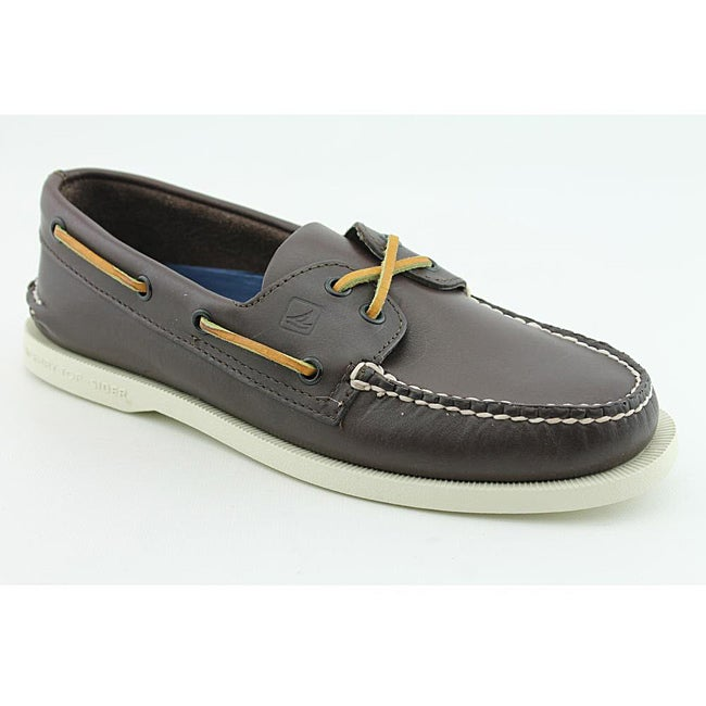 Sperry Top Sider Men's A/O 2 Eye Brown Casual Shoes