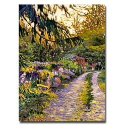 David Glover 'Sunset Road Impressions' Canvas Art