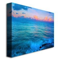 Preston 'St. Marten's Sunset' Canvas Art
