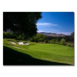 'Golf 3' Canvas Art