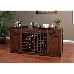 Canton 4-piece Modular Bar/ Wine Storage Set