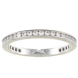 Tiffany & Co. Platinum 2/5ct TDW Band Ring (F-G, VS1-VS2)