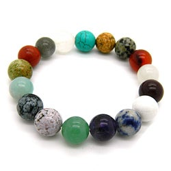 Pearlz Ocean Mult-gemstone Stretch Bracelet