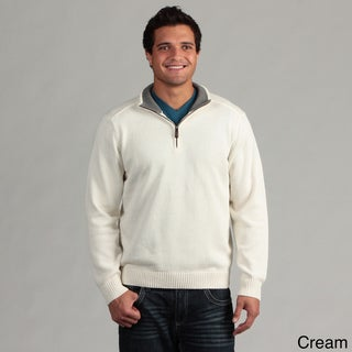 Oscar De La Renta Men's 1/4-zip Sweater