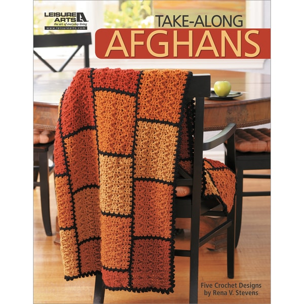 Leisure Arts-Take-Along Afghans